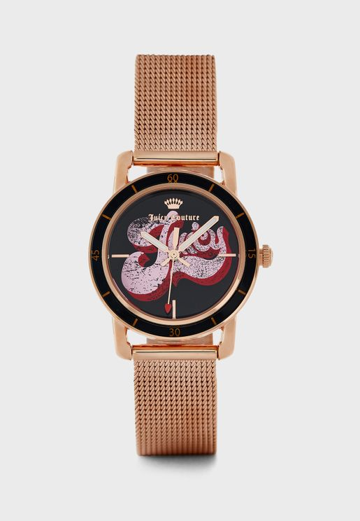 Multi Strap Analog Watch