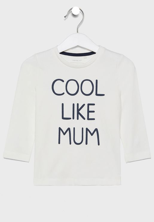 Infant Slogan T-Shirt