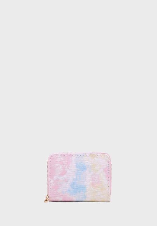 Tie Dye Cardholder Bag
