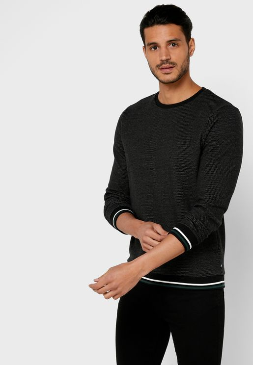 Textured Sweatshirt