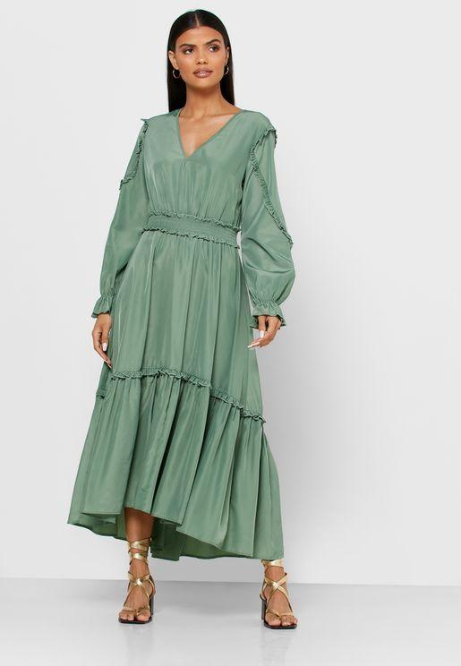فستان كشكش