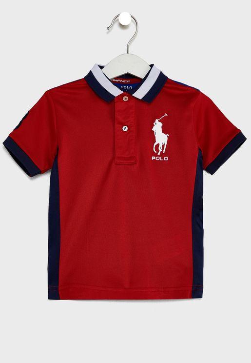 Kids Logo Polo