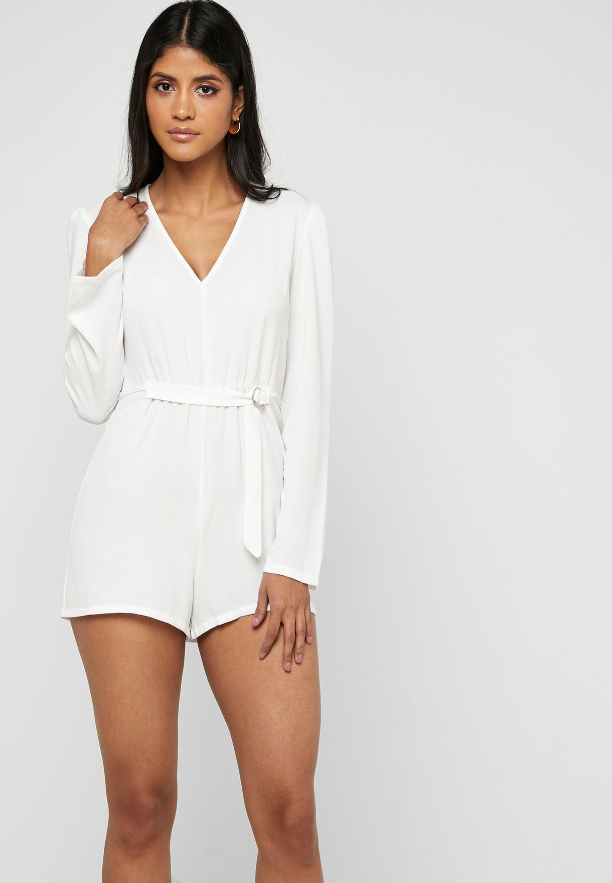 D- Ring Belted Playsuit