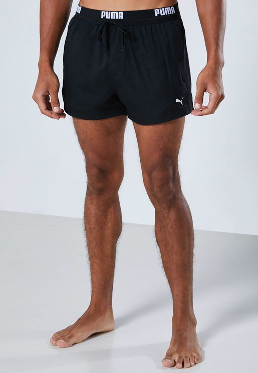 Logo Waist Swim Shorts