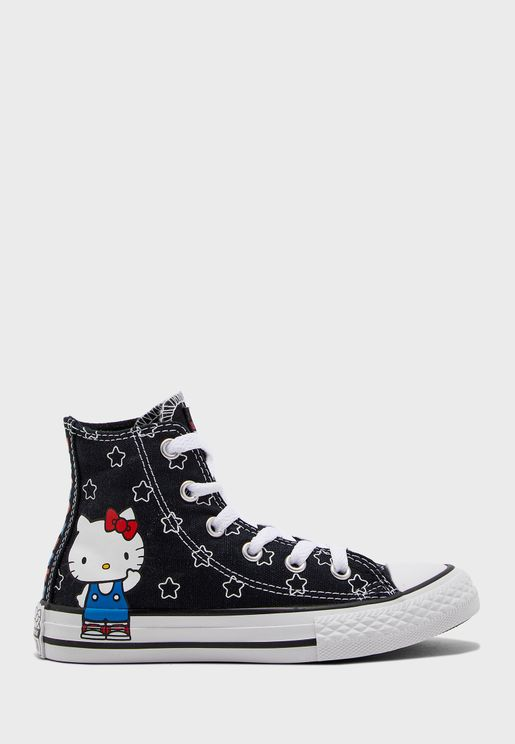 Kids Hello Kitty Chuck Taylor All Star Hi