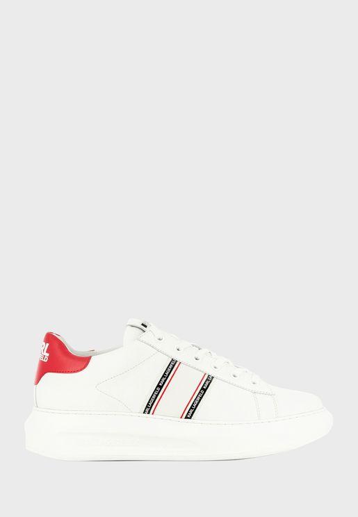 Kapri Stripe Logo Sneakers