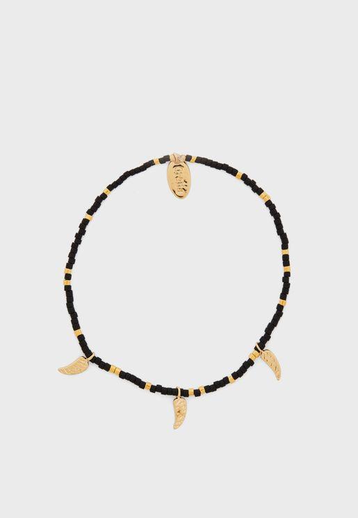Seedbead & Tusk Bracelet