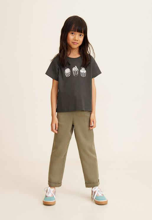 Kids Cupcake Graphic T-Shirt