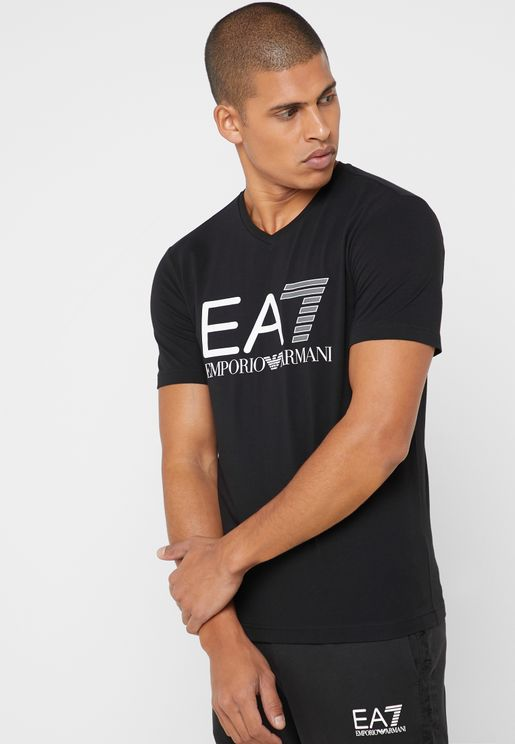 Multicolor  Logo Crew Neck T-Shirt