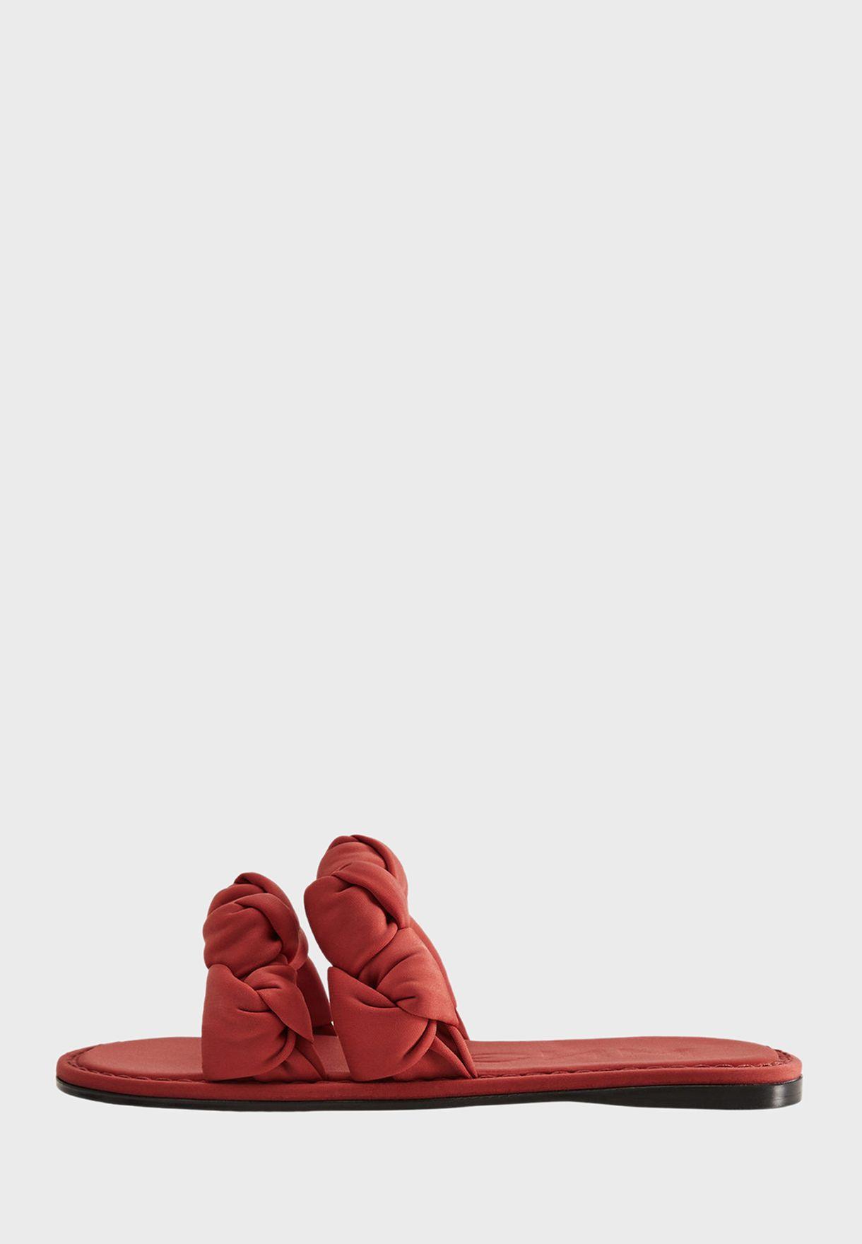 Double Flat Sandals