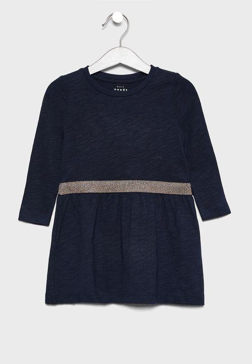 فستان اطفال كلاسيكي