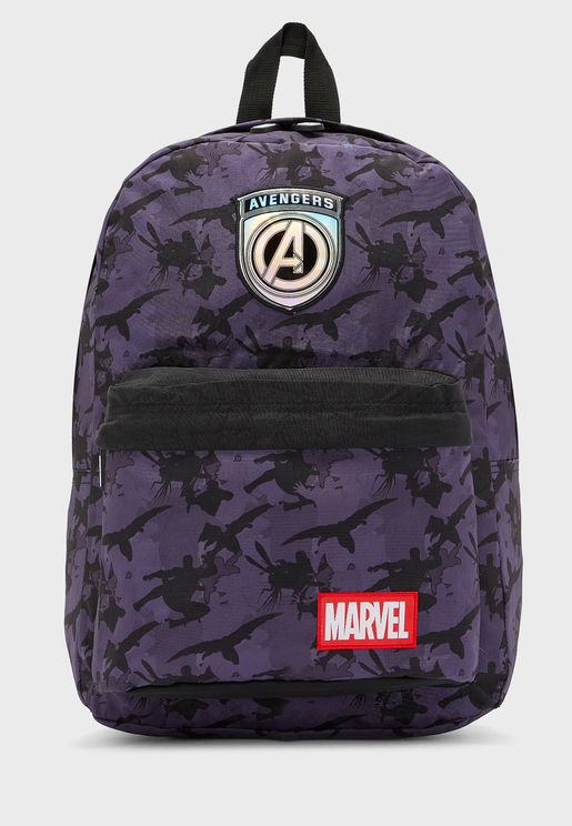 "Avengers Camouflage 16"" Backpack"