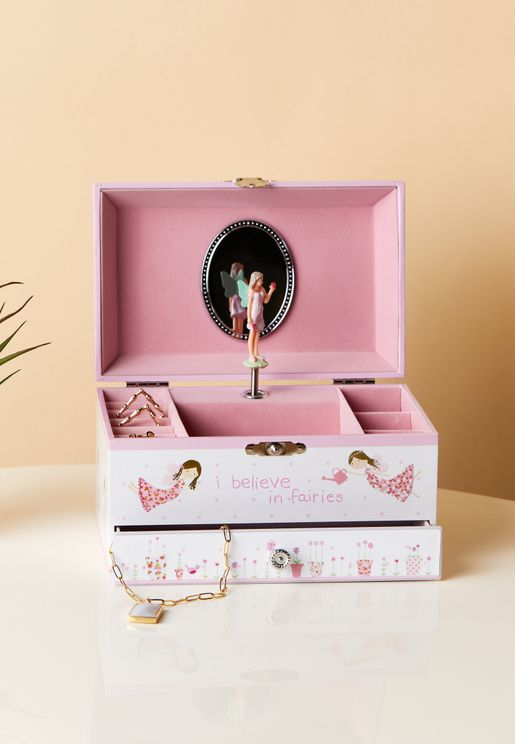 Fairy Blossom Jewellery Box