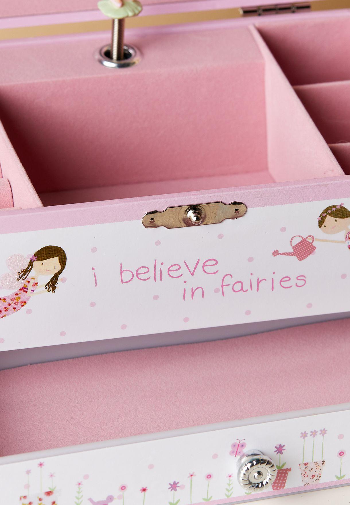 صندوق مجوهرات فيري للاطفال