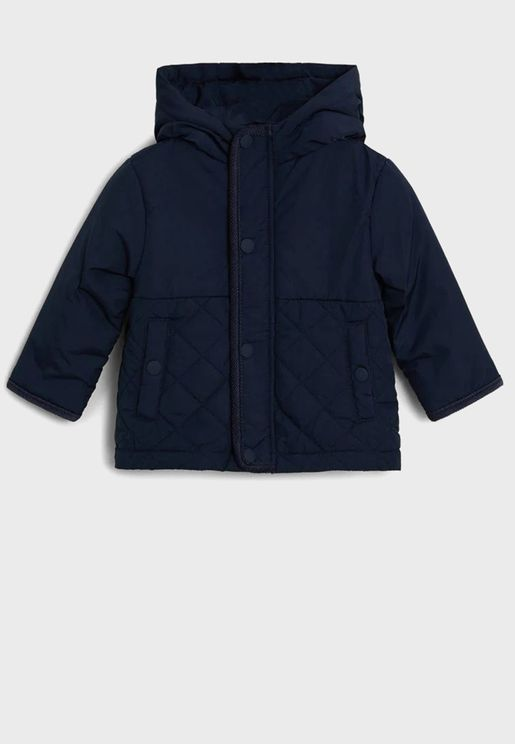 Infant Quilted Jacket