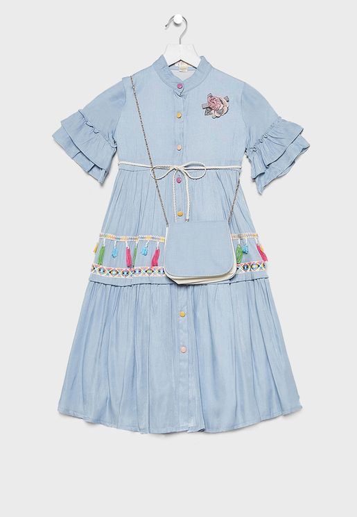 Kids Denim Dress