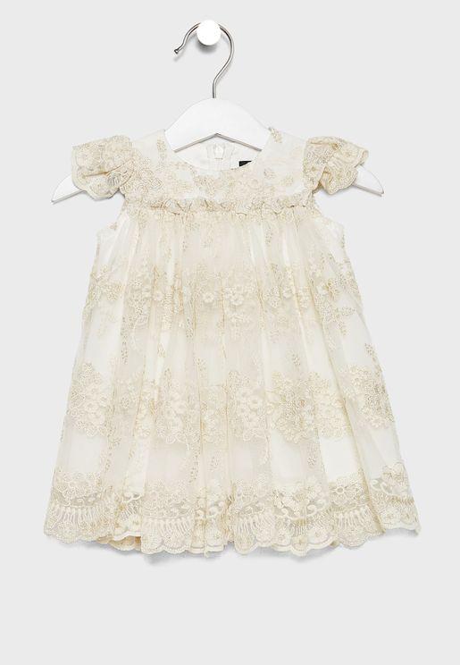 Infant Oriel Lace Dress