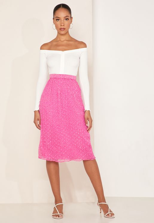 Cecilia Sheer Lace Skirt