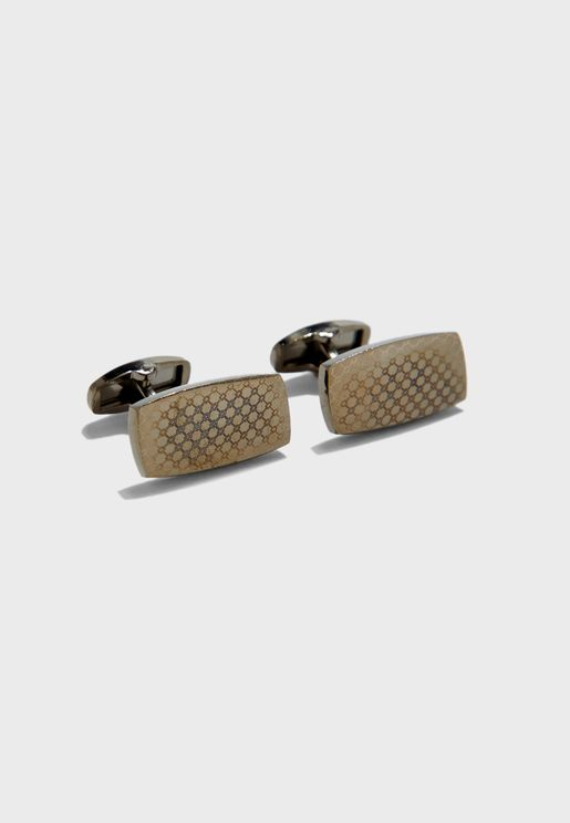 Textured Formal Cufflinks