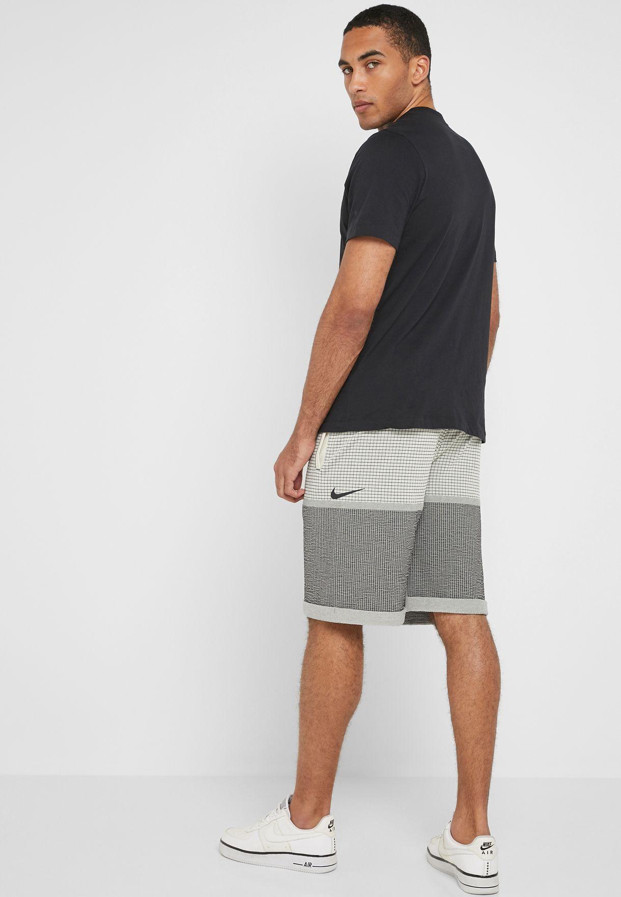7a2c5d01ab61a Shop Nike prints Tech Pack Grid Shorts AR1587-238 for Men in Saudi ...
