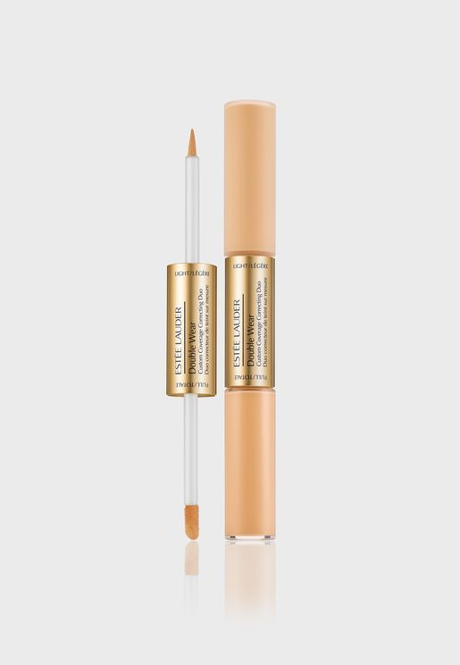 Double Wear Custom Correcting Duo -Apricot