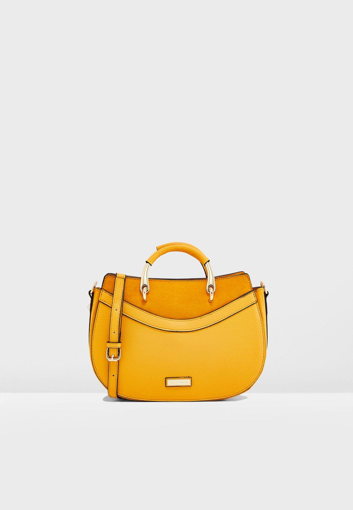 10440fcd8d3 Shop Call It Spring yellow Pegomya Crossbody PEGOMYA701 for Women in ...