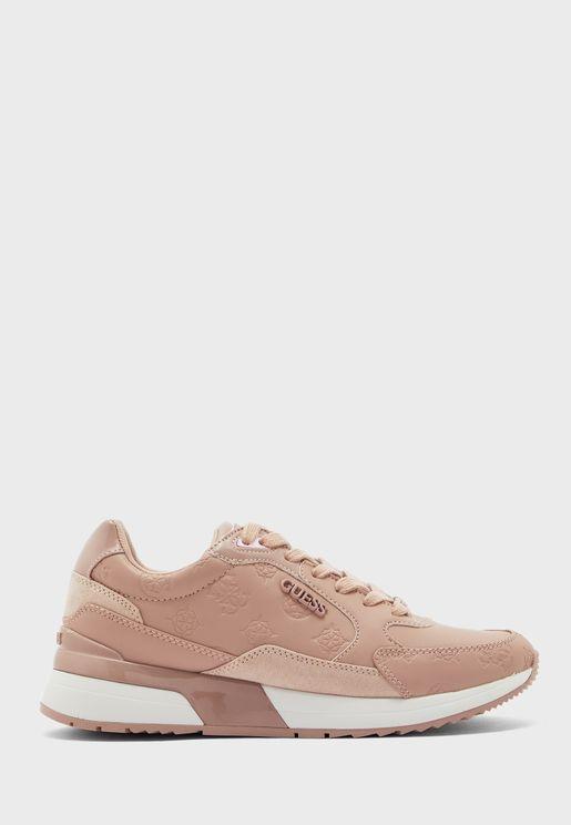 Nappa Low Heel Sneaker
