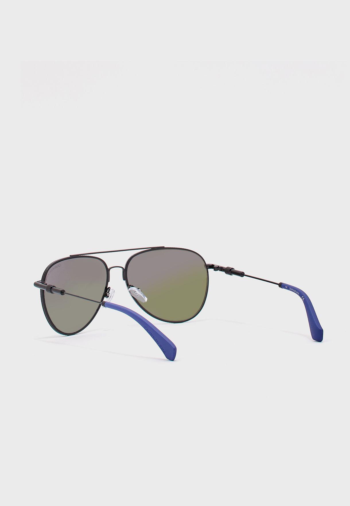 Ckj162S Aviator Sunglasses