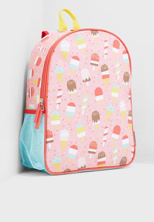 Kids Ice Cream Eco-friendly Backpack