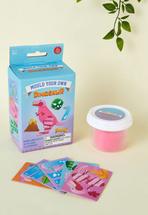 Mould Your Own Dinosaur Kit