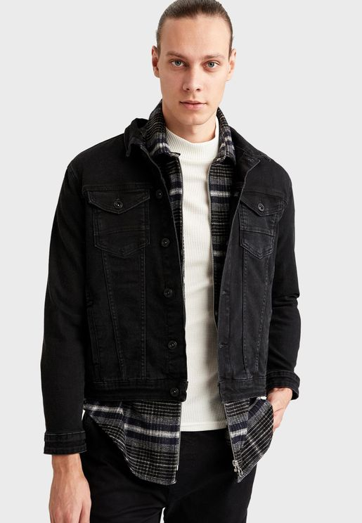 Rinse Denim Jacket