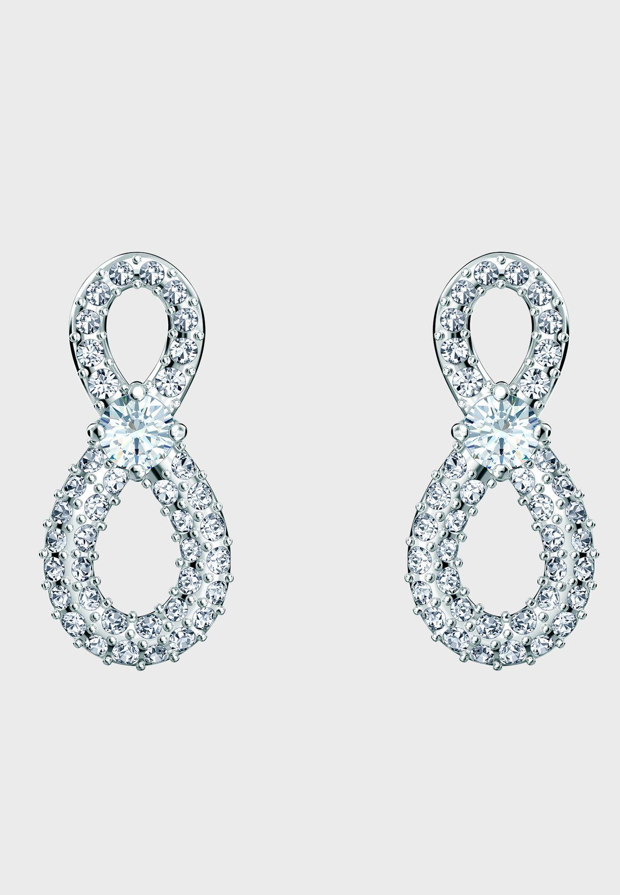 Infinity Mini Drop Earrings