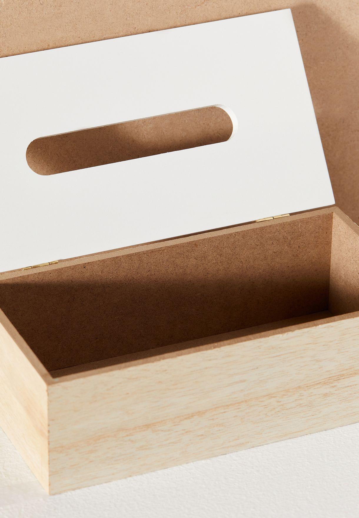 صندوق مناديل ورقية رخامي