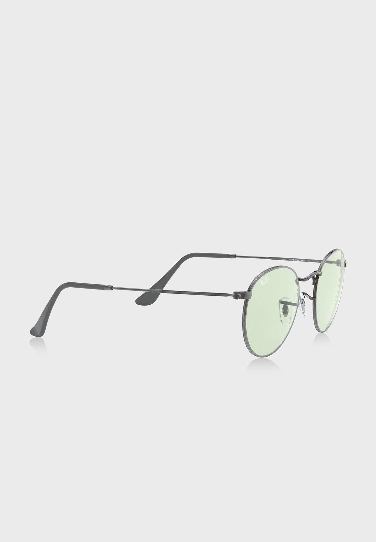 نظارة شمسية مستديرة