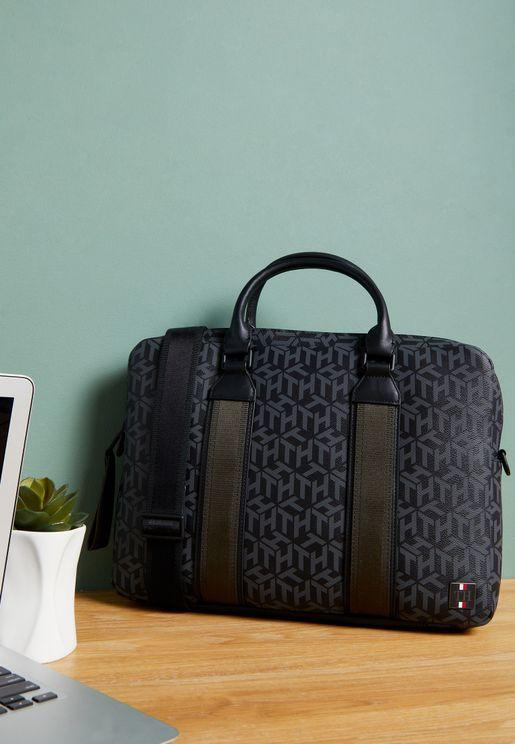 Monogram Laptop Bag