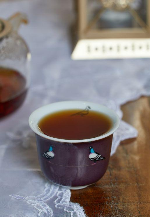 فنجان قهوة عربي - حمام الصخور
