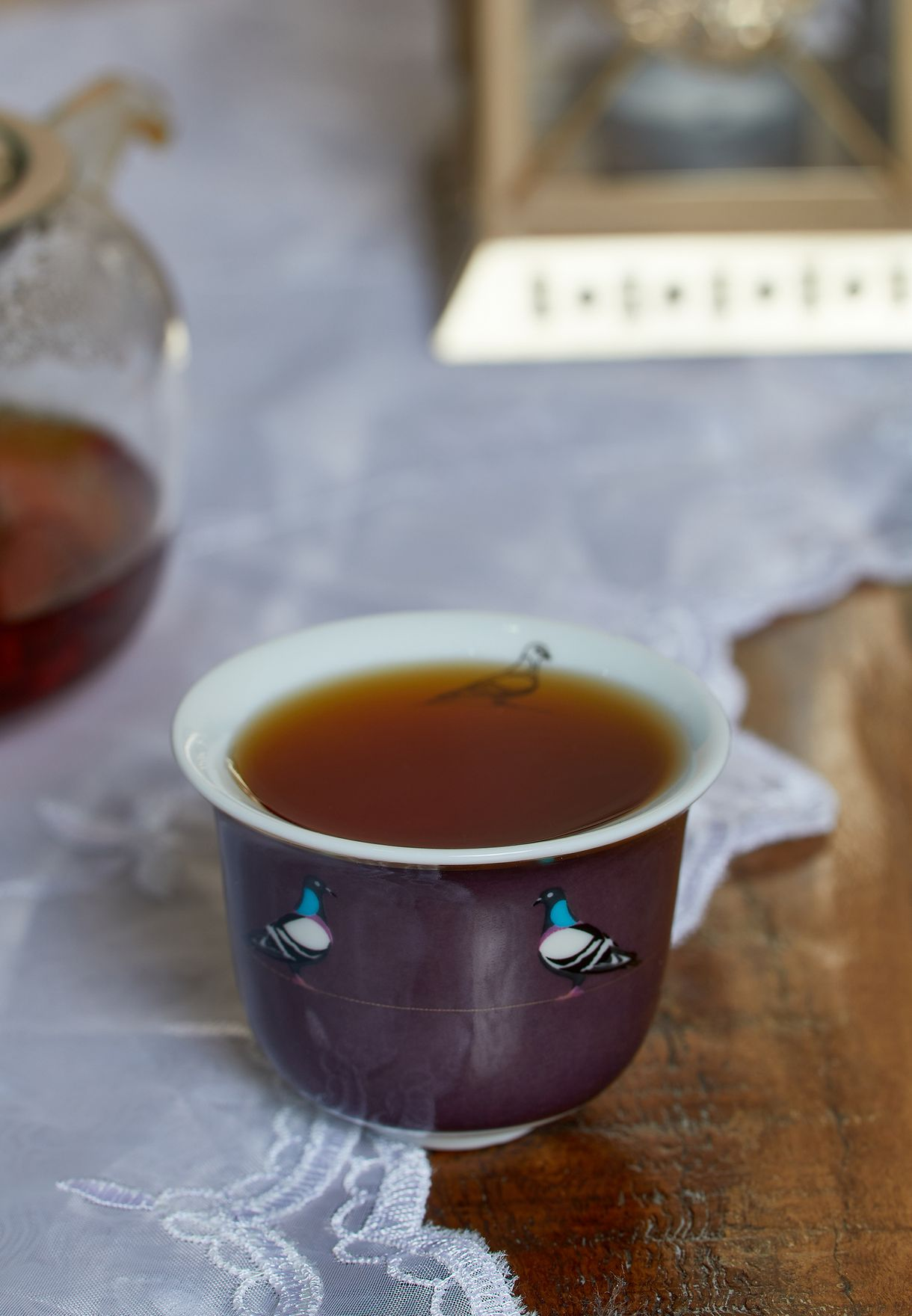 Sarb Arabic Coffee Cup - Rock Pigeon