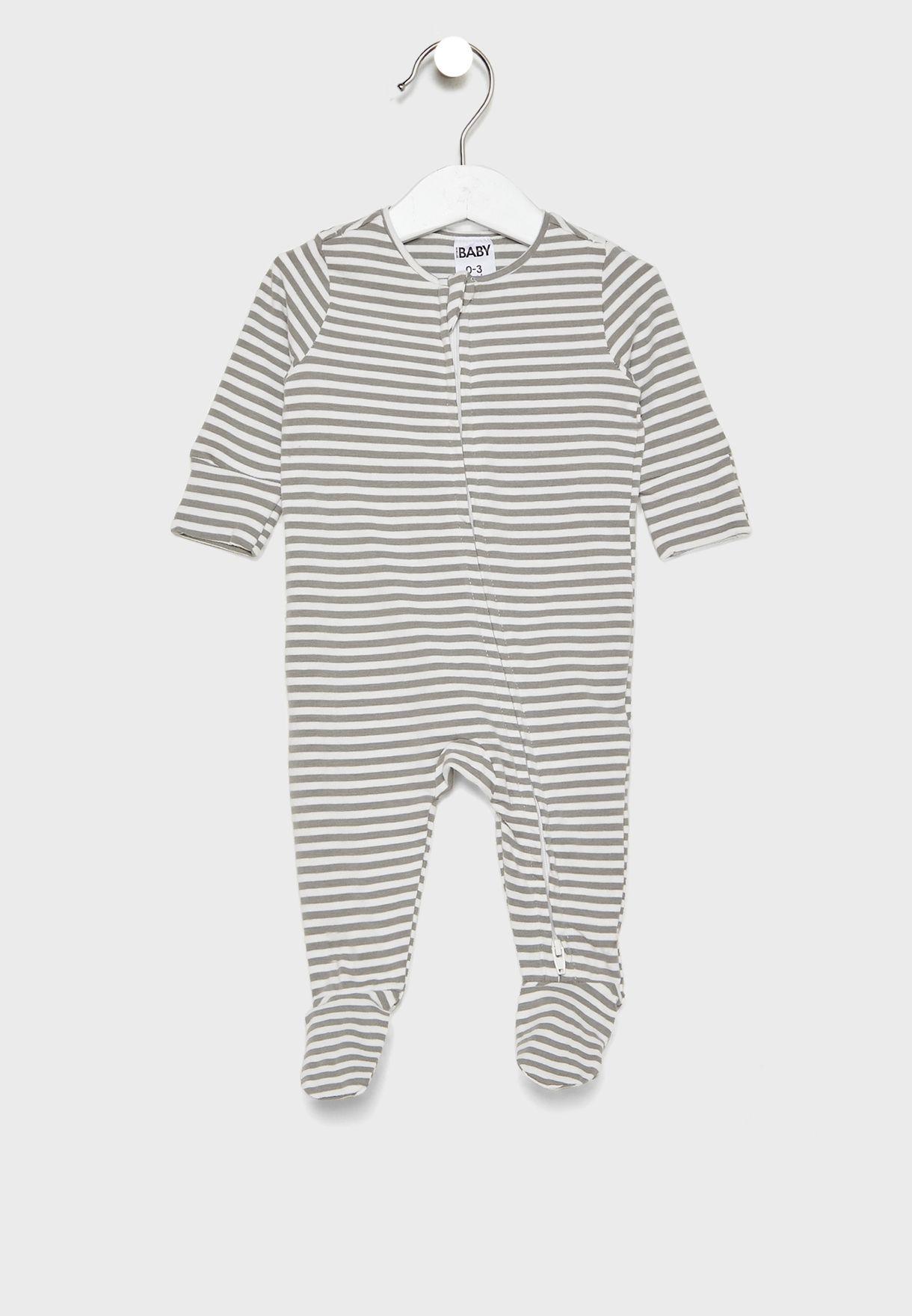 Infant Zip Romper Multipack