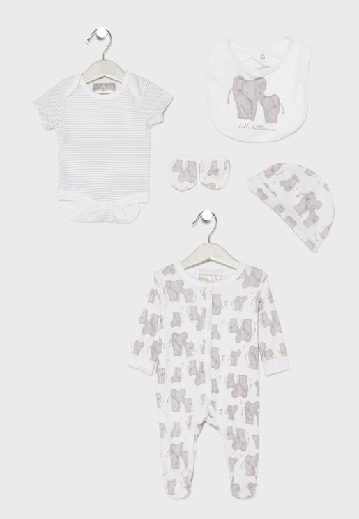 Infant 5 Piece Gift Set