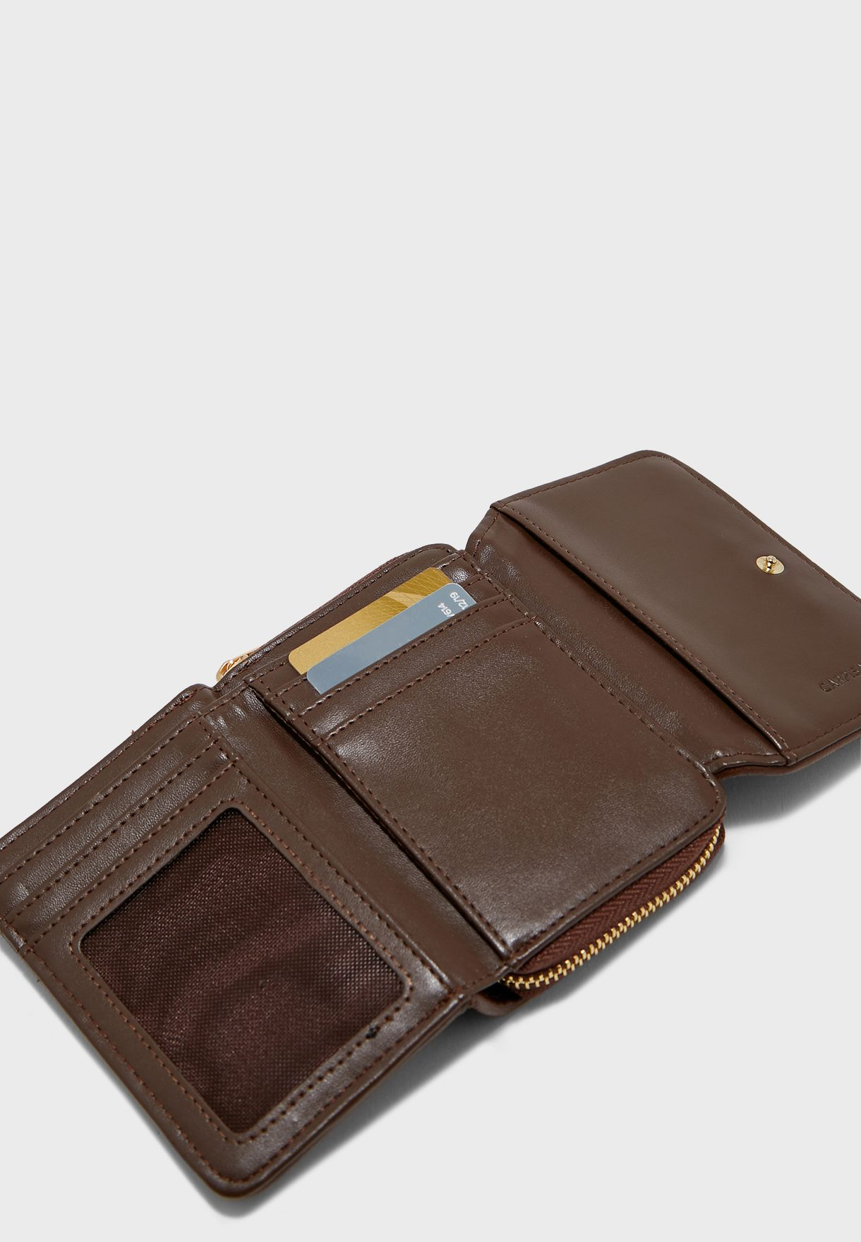 Trifold Multi Pocket Purse