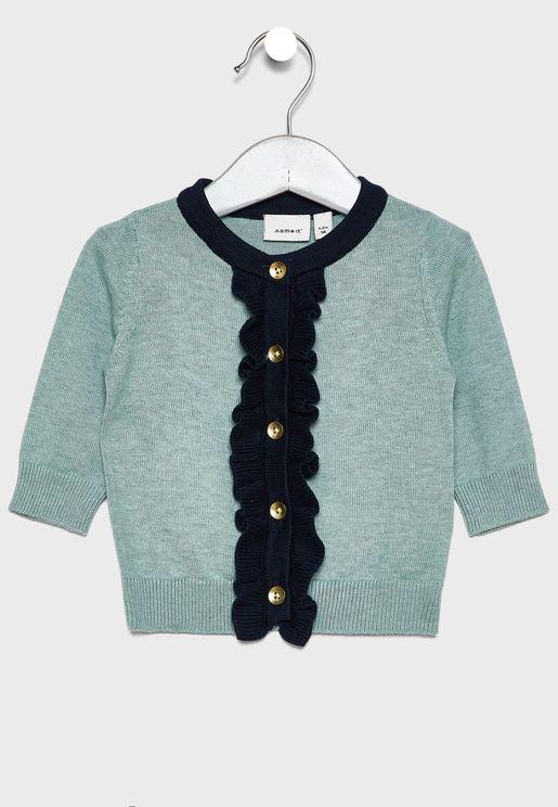 Infant Frill Detail Cardigan