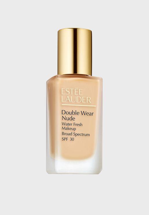 Double Wear Nude Water Fresh Foundation SPF 30 Rattan 2W2