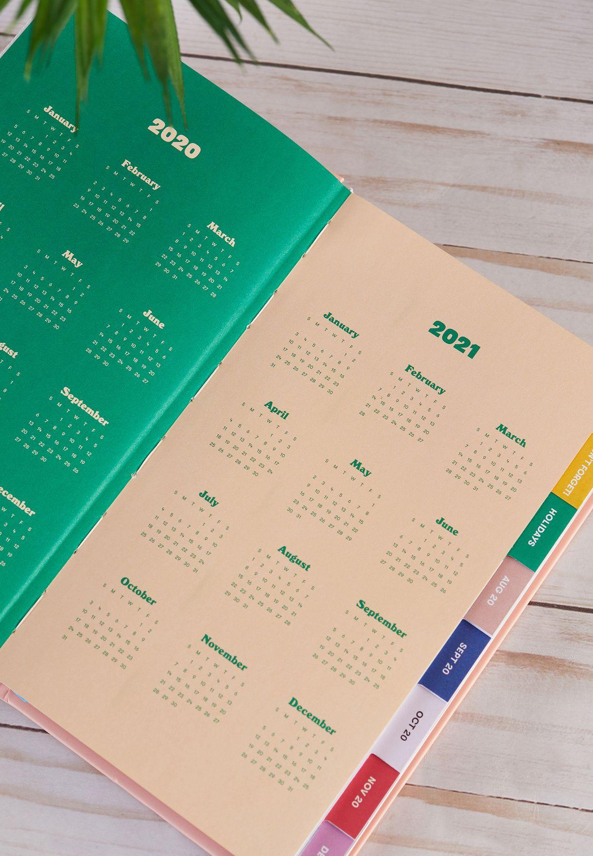 دفتر تخطيط 17 شهر