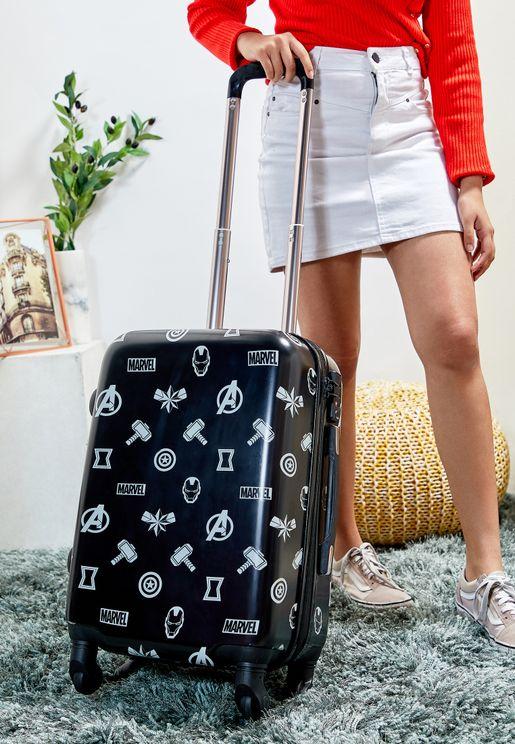 حقيبة سفر صغيرة بقفل