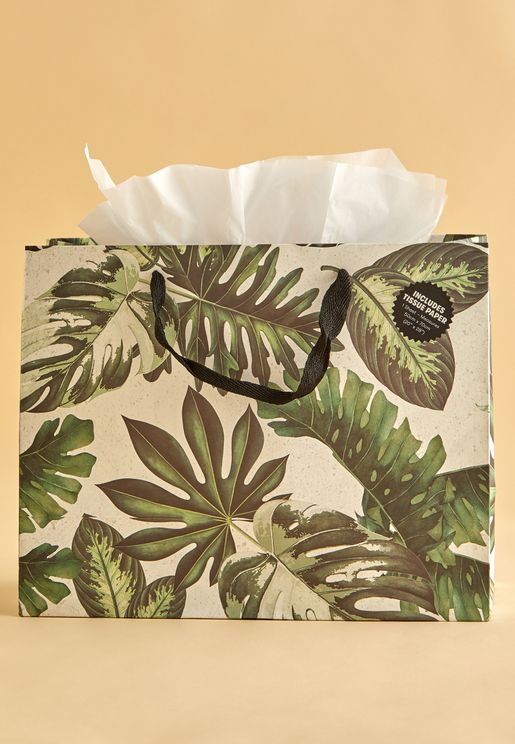 Medium Gift Bag With Tissue Paper
