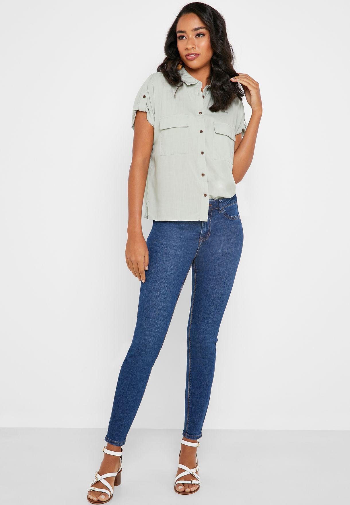 Midwash Skinny Jeans