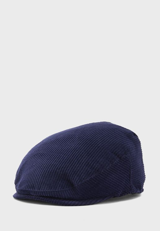 Mens Cord Flat Cap
