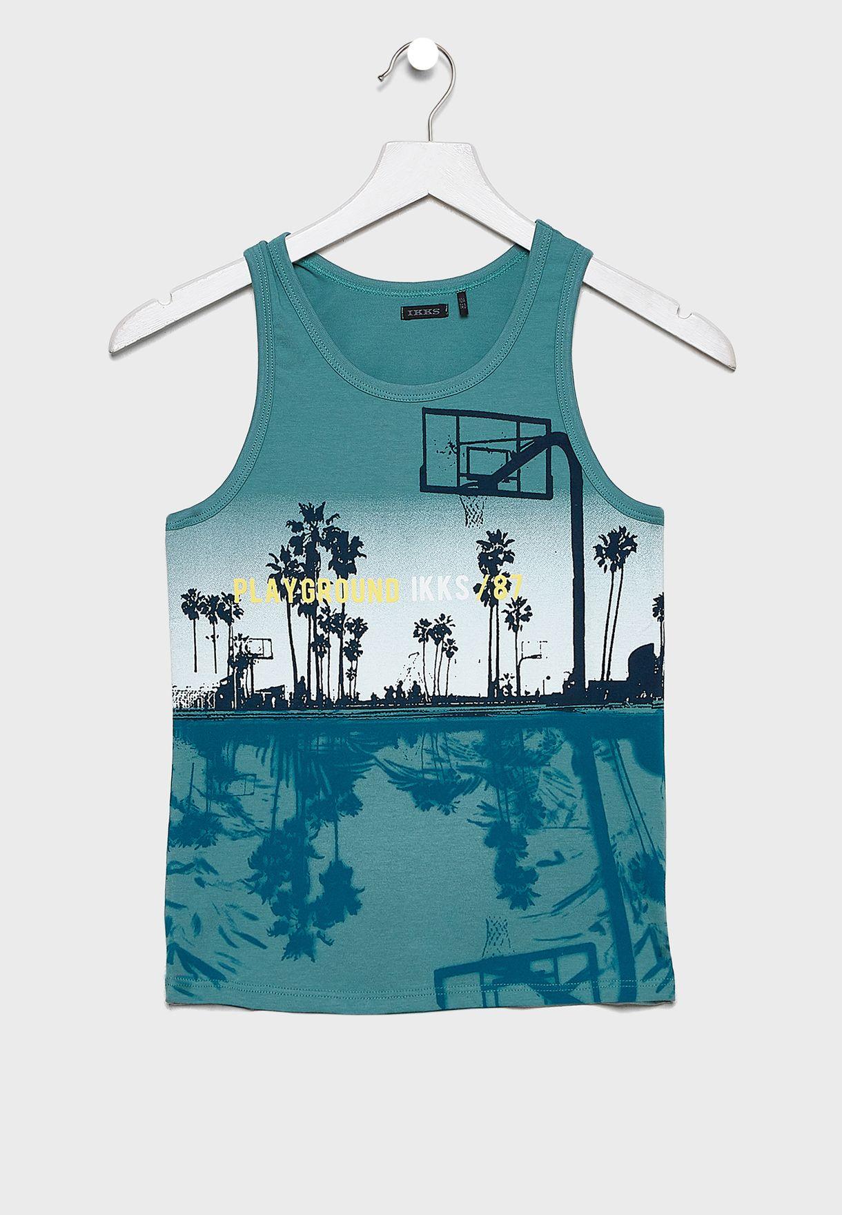 Youth Palm Tree Vest
