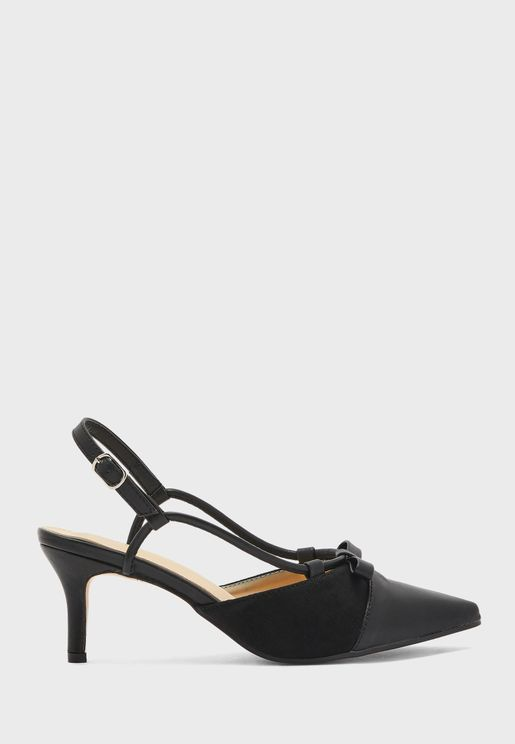 Bow Front Slingback