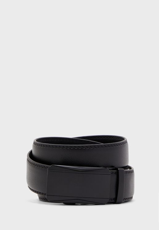 Adjustable Buckle Formal Belt